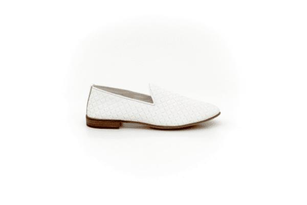 Ежедневни бели дамски обувки от естествена кожа 32.2003