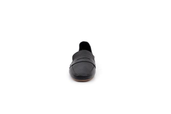 Ежедневни черни дамски обувки от естествена кожа 32.4068