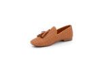 Ежедневни камелени дамски обувки от естествена кожа 32.4083