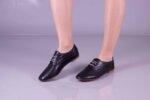 Ежедневни черни дамски обувки от естествена кожа 32.6046