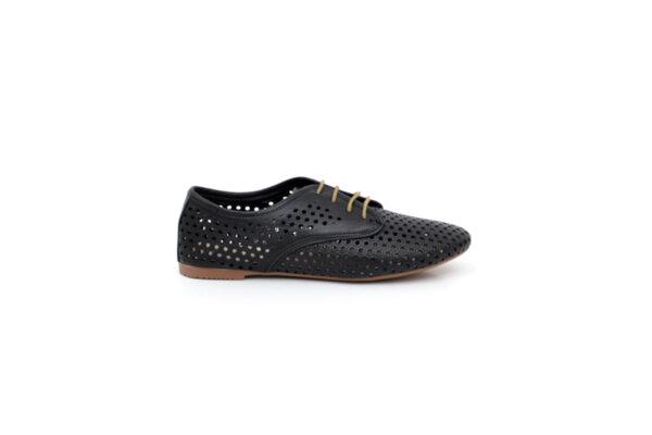 Ежедневни черни дамски обувки от естествена кожа 32.6044