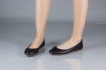 Ежедневни черни дамски обувки от естествена кожа 32.6048