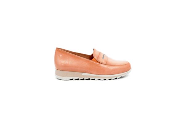 Ежедневни розови дамски обувки от естествена кожа 37.98508