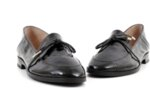 Ежедневни черни дамски обувки от естествена кожа 04.064