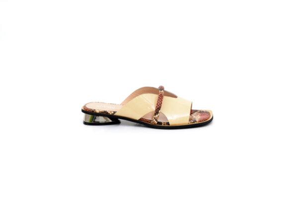 Дамски божови чехли от естествен лак 29.11800