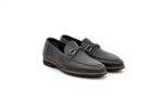 Ежедневни черни мъжки обувки от естествена кожа 11.8616