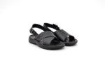 Мъжки черни сандали от естествена кожа 13.1940