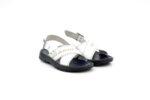Мъжки бели сандали от естествена кожа 13.1940