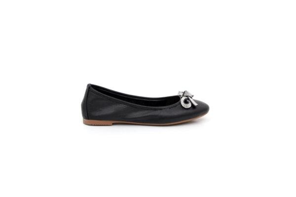 Ежедневни черни дамски обувки от естествена кожа 32.6034