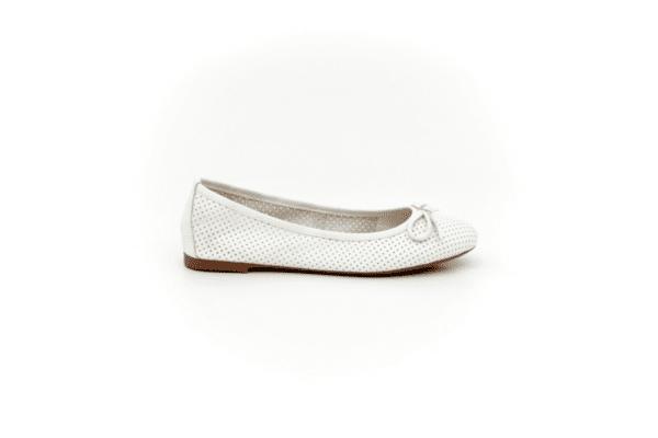 Ежедневни бели дамски обувки от естествена кожа 32.6035