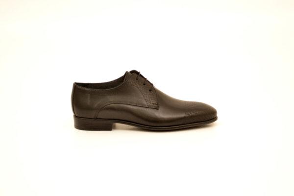 Елегантни черни мъжки обувки от естествена кожа 18.26402