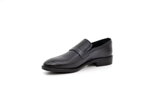 Елегантни сини мъжки обувки от естествена кожа 18.26213