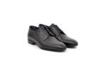 Елегантни черни мъжки обувки от естествена кожа 18.26601