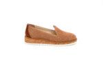 Ежедневни камелени дамски обувки от естествен велур 04.113