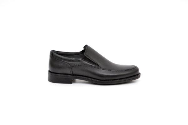 Елегантни черни мъжки обувки от естествена кожа 18.26302