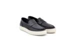 Ежедневни черни мъжки обувки от естествена кожа 55.10106