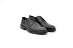 Елегантни черни мъжки обувки от естествена кожа 18.26504
