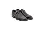 Елегантни черни мъжки обувки от естествена кожа 18.52