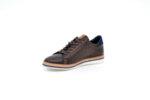 Ежедневни кафяви мъжки обувки от естествена кожа 11.5302