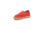 Ежедневни червени дамски обувки от естествена кожа 56.518