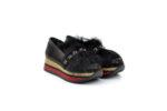 Ежедневни черни дамски обувки от естествена кожа 29.12702