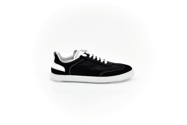 Спортни черни мъжки обувки от естествена кожа 55.10109