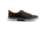 Мъжки спортни черни обувки от естествена кожа 57.22601