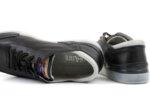Мъжки спортни черни обувки от естествена кожа 57.21402