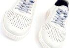 Мъжки бели спортни обувки от естествена кожа 57.24203
