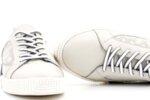 Мъжки бели спортни обувки от естествена кожа 57.72804