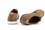 Ежедневни бежови мъжки обувки от естествен набук 57.2656