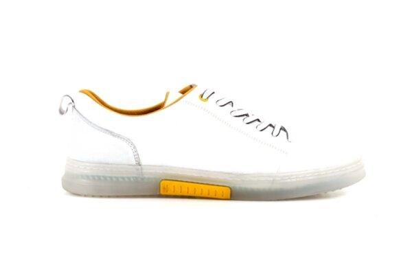 Мъжки бели спортни обувки от естествена кожа 57.22601
