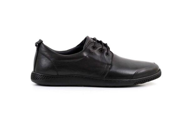 Ежедневни черни мъжки обувки от естествена кожа 57.35001