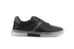 Мъжки спортни черни обувки от естествена кожа 57.22604