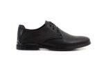 Ежедневни черни мъжки обувки от естествена кожа 57.77719