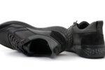 Мъжки спортни черни обувки от естествена кожа 57.70402