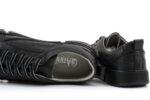 Мъжки спортни черни обувки от естествена кожа 57.72804