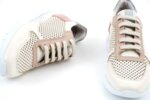 Спортни бежови дамски обувки от естествена кожа 10.31188