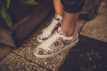 Спортни розови дамски обувки от естествена кожа 10.33154