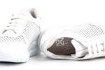 Спортни бели дамски обувки от естествена кожа 10.31188