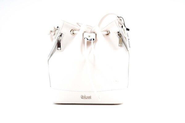 Дамска бяла чанта от еко кожа 17.1845