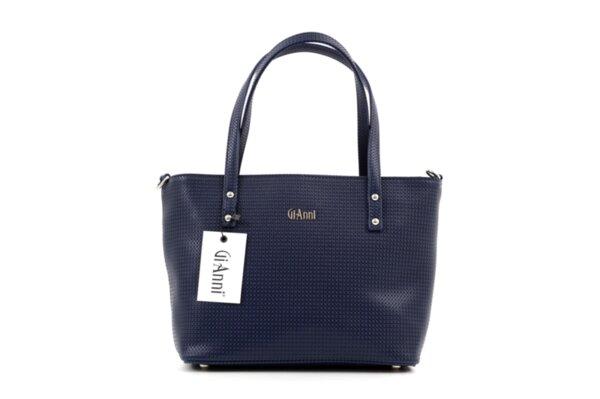 Дамска синя чанта от еко кожа 17.2152