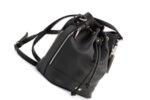 Дамска черна чанта от еко кожа 17.1845