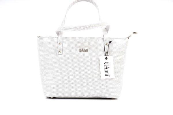 Дамска бяла чанта от еко кожа 17.2152