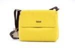 Дамска жълта чанта от еко кожа 17.1187