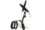 Дамска бяла чанта от еко кожа 17.1844