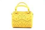 Дамска жълта чанта от еко кожа 17.1844
