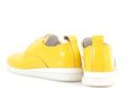 Спортни жълти дамски обувки от естествен лак 56.2704