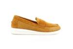 Ежедневни камелени дамски обувки от естествен велур 56.2706