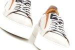 Мъжки бели спортни обувки от естествена кожа 57.19104